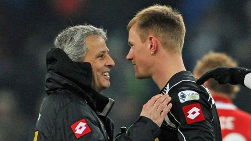 Favre handed an 18 year old Ter Stegen his Bundesliga debut