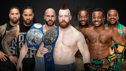 The Bar is set to defend their SD Live Tag Team Titles against both The Usos and The New Day at TLC