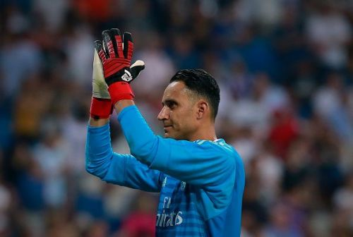 Keylor Navas has found himself warming the bench