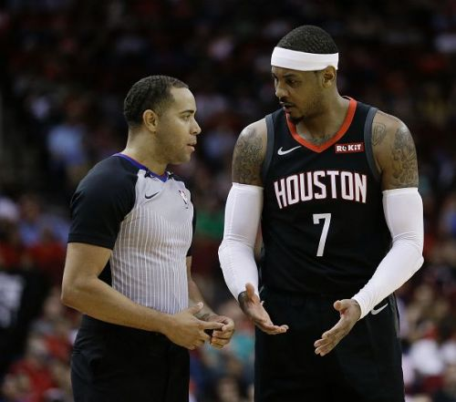 Anthony has been away from the Rockets first team for almost two months