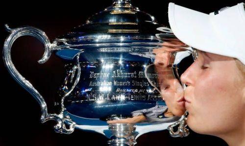 2018 Australian Open champion Caroline Wozniacki