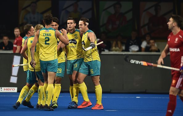 Australia cruised to a powerful 8-1 triumph over a lackluster England team