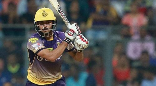 Manish Pandey had a great time with the Kolkata Knight Riders