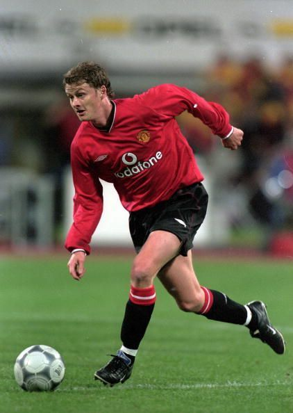 Ole Gunnar Solskjaer is a United legend