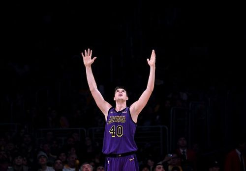 Ivica Zubac of the Los Angeles Lakers had his best game of the season
