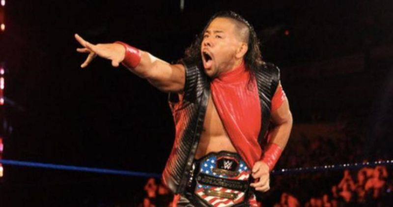 Shinsuke Nakamura the WWE United States Champion