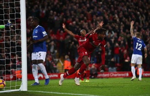 Origi scores in the 97th minute to seal the derby for Liverpool