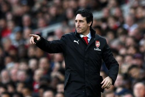 Unai Emery - was upset by the midweek draw