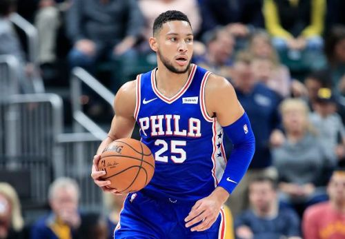 Ben Simmons is the reigning Rookie of the Year but needs to develop a 3pt shot in order to truly become elite