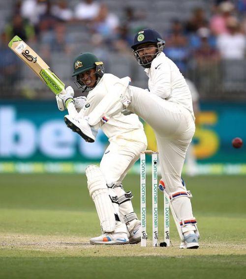 Usman Khawaja's innings helped Australia set a huge target for India