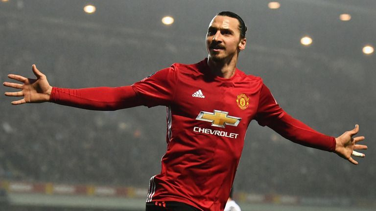 Zlatan played one and half seasons for Manchester United.