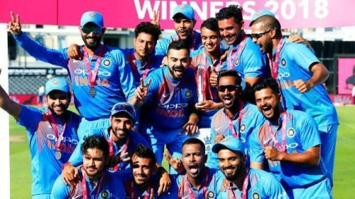 India didn't lose any T20I series in 2018
