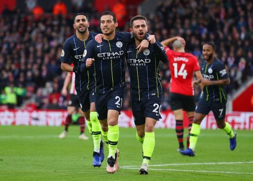 Silva's early opener was City's best goal of the afternoon - but they should have had more