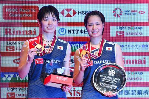 Yuki Fukushima and Sayaka Hirota