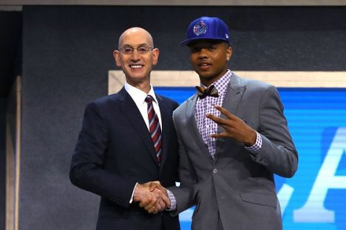Fultz was drafted #1 in the 2017 NBA Draft.