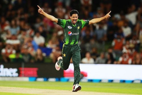 Aamer Yamin picked four wickets in four balls during a T10 match
