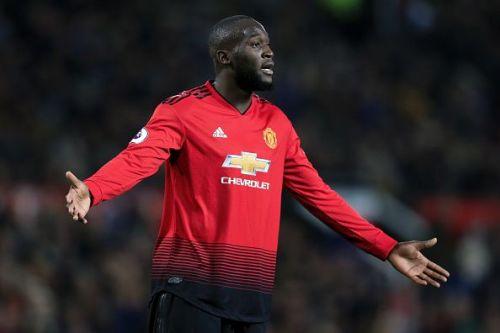 Romelu Lukaku has struggled at Manchester United this season