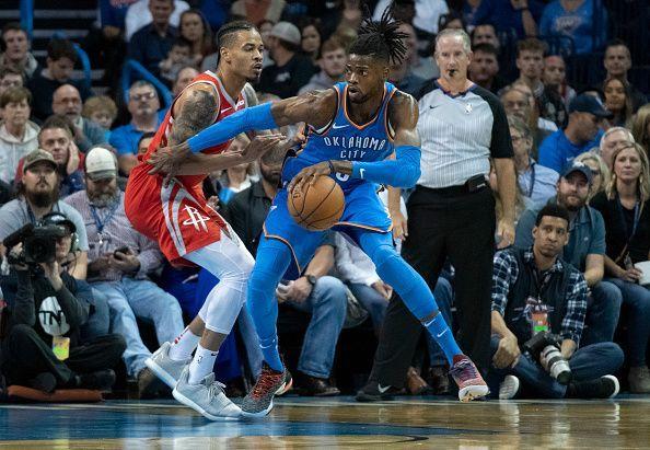 8d5fec301d6 Houston Rockets v Oklahoma City Thunder
