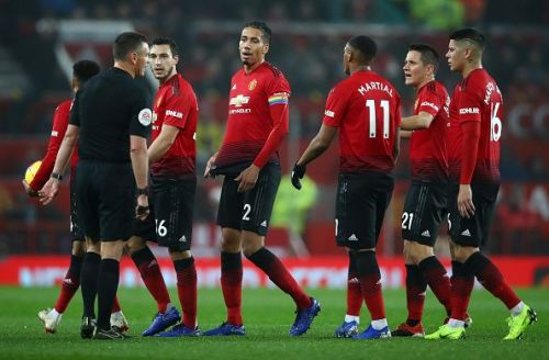 Smalling was the captain for United on the night, but his deficiencies at the back are costing the club on what now seems a weakly basis