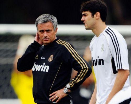 Kaka played under Jose Mourinho for three seasons at Real Madrid.
