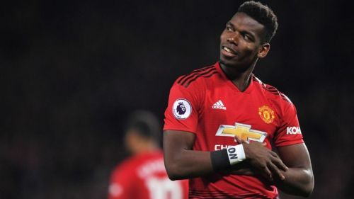 Paul Pogba in action for the Reds