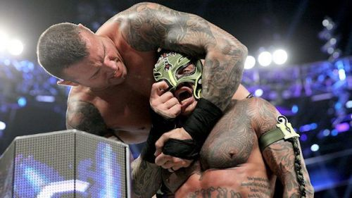 Image result for randy orton rey mysterio mask