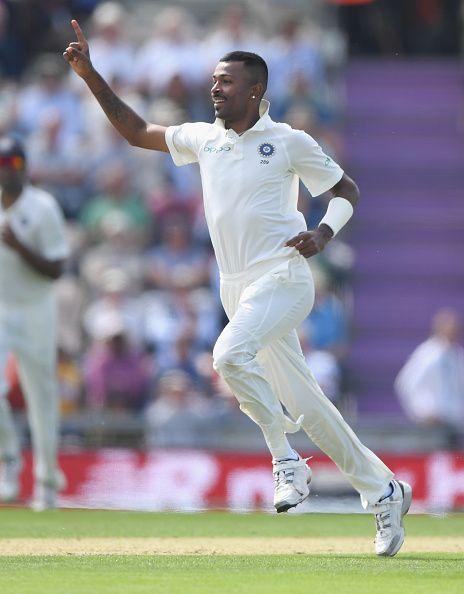 Hardik Pandya makes a comeback to the test squad