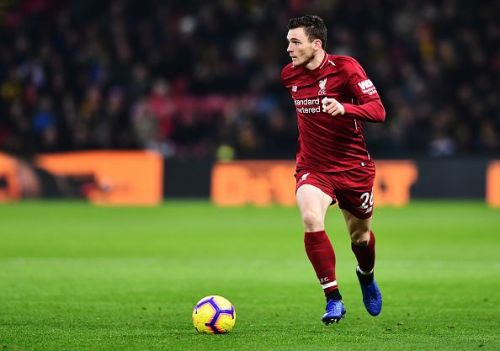 Robertson is one of the best crossers of the ball in the league