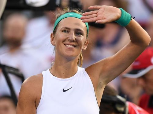 Victoria Azarenka at the Rogers Cup in Montreal