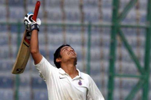 Puneet Bisht is unbeaten on 301 against Sikkim