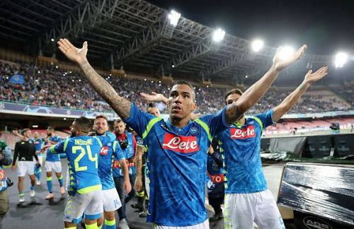 Napoli has been the most consistent out of all the 4 clubs