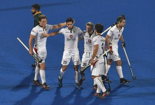 Belgium cruised to a 5-0 victory against South Africa