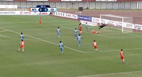 The moment Katsumi Yusa scored for NEROCA (Screenshot: