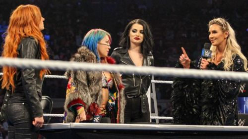 The three Superstars are just days away from the first Women's TLC match.