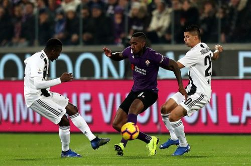 Cancelo has been one of Juve's best performers this season and his injury looked a real blow