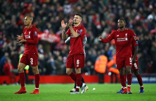 Liverpool qualified for Champions League round of 16 by beating Napoli 1-0 at Anfield