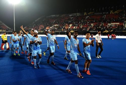 India held Belgium to a 2-2 draw in a riveting encounter at the Kalinga Stadium