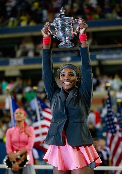 2013 US Open Champion Serena Williams
