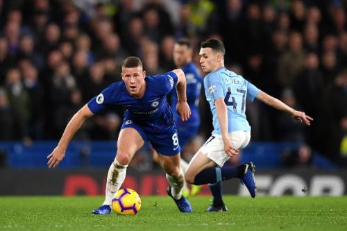 Kovacic limped off, giving way to Barkley