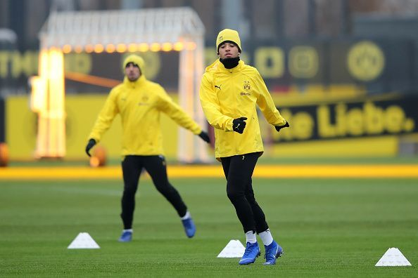Sancho's emergence at Dortmund this season has seen Pulisic's battle for minutes intensify