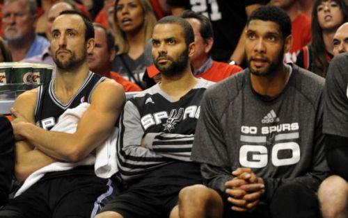 San Antonio Spurs' Big 3.