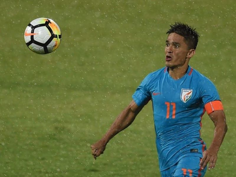 Sunil Chhetri is currently the joint-second highest goalscorer amongst active players