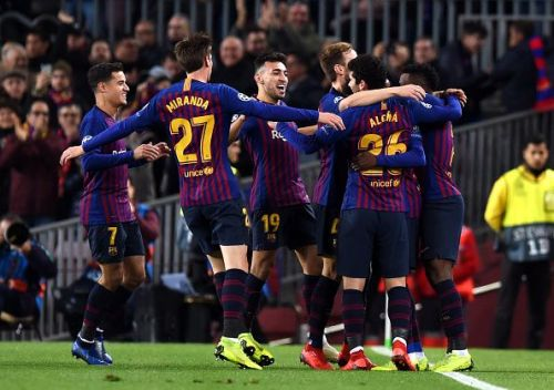 Barcelona were looking to continue their unbeaten run on home turf