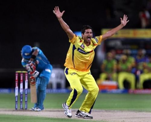 Mohit Sharma last played for CSK in IPL 2015