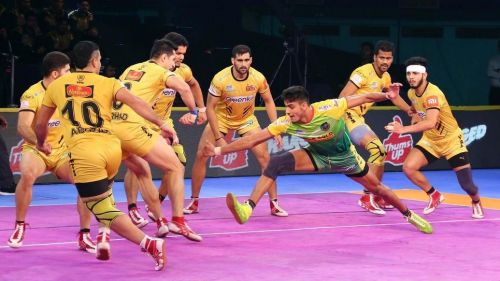 Manjeet was in good form for the Patna Pirates