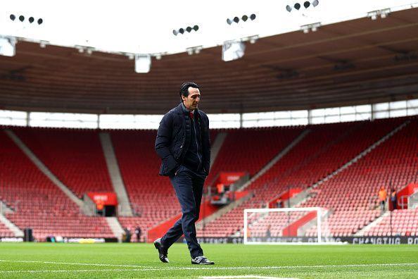 Unai Emery steadied Arsenal