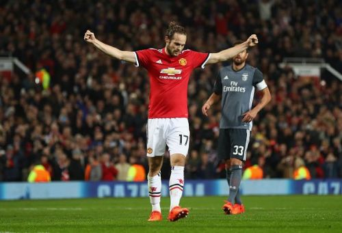Blind used to play in multiple positions for the Red Devils