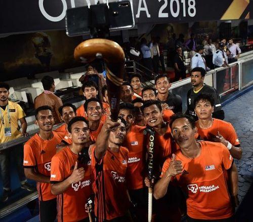 Malaysian team
