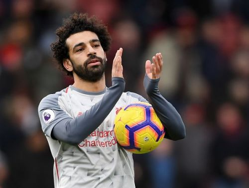Salah netted a hat-trick against Bournemouth