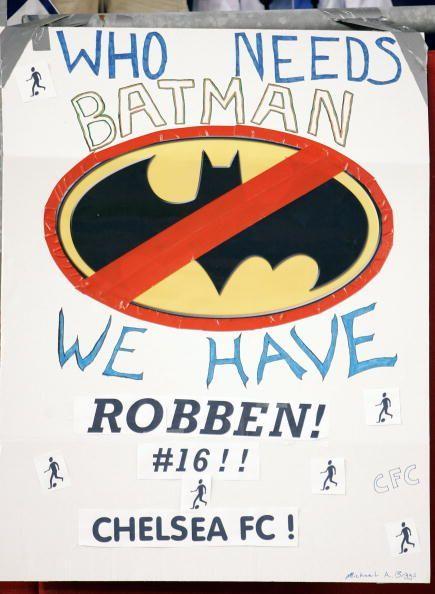 An Arjen Robben poster